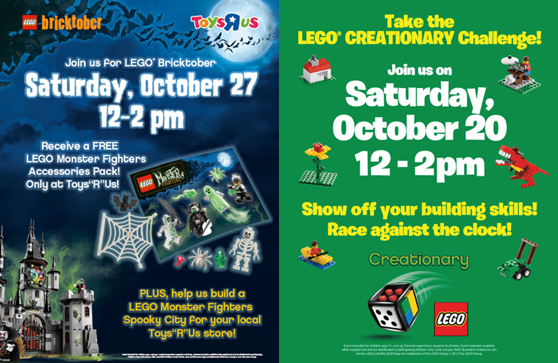 Bricktober Events anouncements